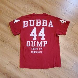 Bubba Gump tshirt.